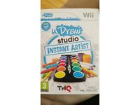 u draw artist Nintendo Wii game