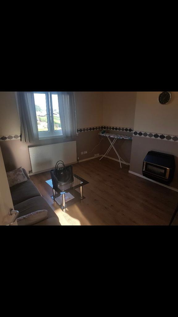 A room to rent in a two bedroom flat