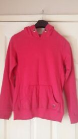 Older Girls Lovely Pink Hoodie Jumper for 10-11 years