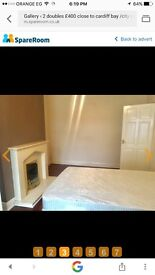 Amazing double room to rent for £400.