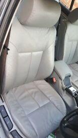 BMW grey leather interior (cheap)