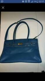 Elysea Royal Blue Handbag