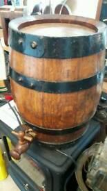 Small Oak Barrel