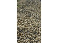 Pebbles - used, two sorts. Nearly free of soil and partially mixed.