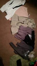 Selection of size 8 clothes