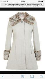 Brand new coat Miss selfridge