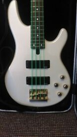 Yamaha active bass guitar