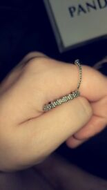 Daisy pandora ring