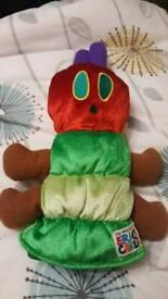 Hungry caterpillar hand puppet