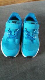 Boys Nike trainers size 11