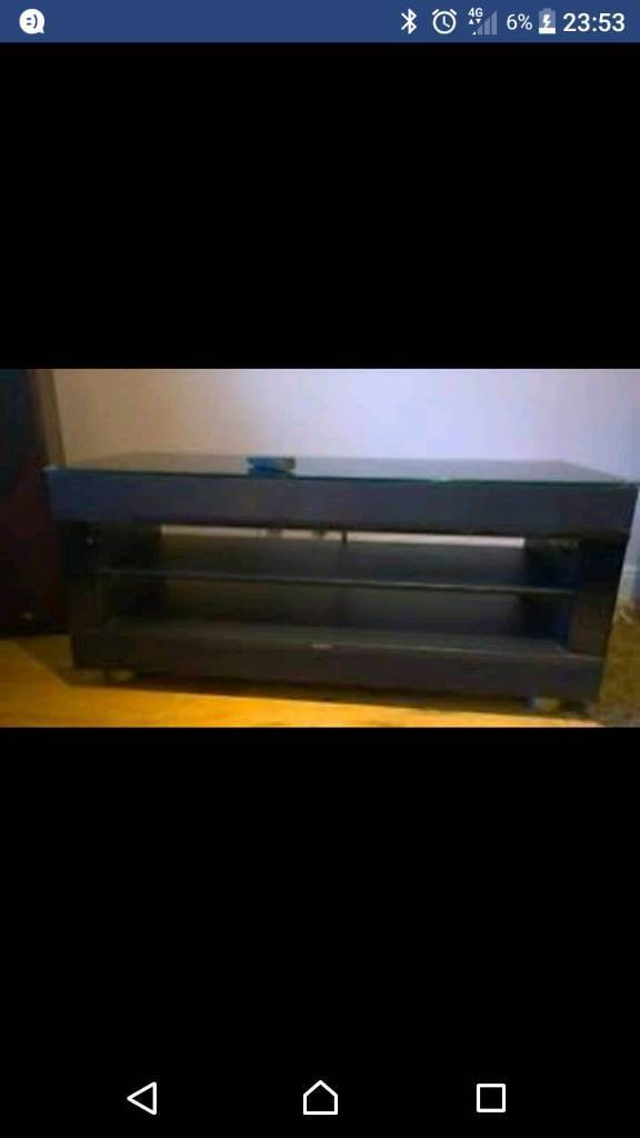 Sony TV stand with built in subwoofer and surround sound