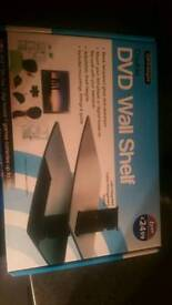 Double glass floating dvd /sat or console