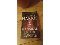 THE HANNIBAL LECTER OMNIBUS BY THOMAS HARRIS - PAPERBACK