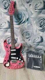 Brand new guitar and amp