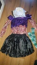 Girls Dead Schoolgirl Halloween Outfit