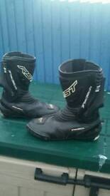 Rst track tech motorcycle boots