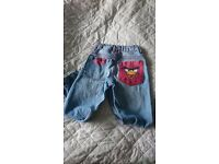 Angry Birds Jeans ( age 6/7) and jumper ( age 7/8)