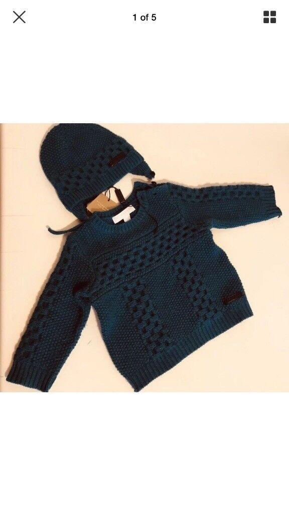 9b6ec78665a New Burberry baby jumper