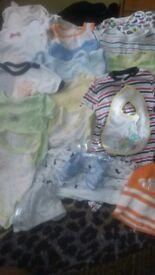 Baby clothing Newborn-6 mounts bundle