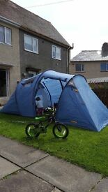 Swap Large Family Tent with extras