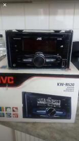JVC Double Din stereo.