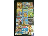 24 children's DVDs