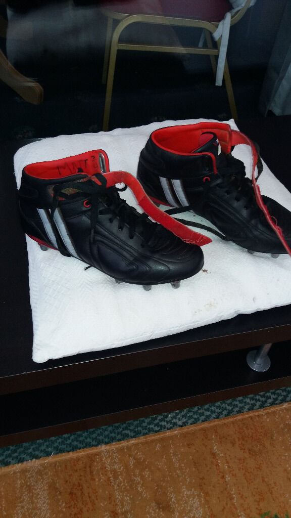 2c9419cac17d Patrick Rugby Football Boots size 9 uk 43 EU - good condition - only used 6  times