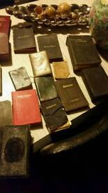20 vintage bibles