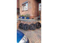 Alloy wheels 17 inch 4 stud 4x100