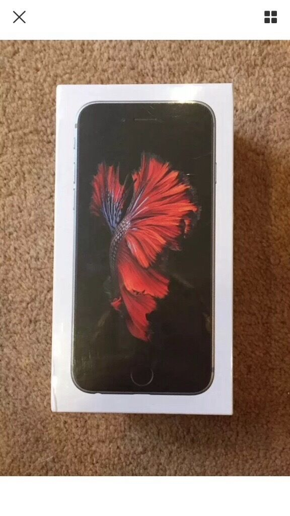 IPHONE 6S 64GB SPACE GREY BRAND NEW IN BOXin Slough, BerkshireGumtree - IPHONE 6S 64GB SPACE GREY THE IPHONE IS BRAND NEW IN BOX UNWANTED GIFT PLEASE CALL 07447600600 NO TIME WASTERS PLEASE