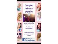 Glasgow princess parties / children's entertainer / party host