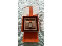 Genuine Hermes nearly new Cape Cod Watch