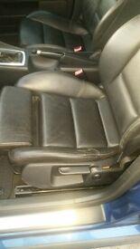 Audi A4 leather Interior / Seats fit B6 - B7