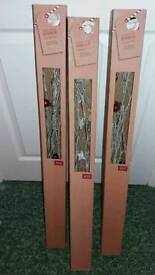 3 boxes of light up twigs