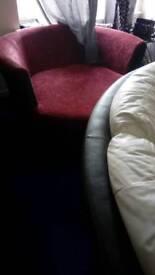 Cuddle chair £50
