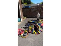 Diving equipment Air tank US Divers demand valve BC jacket etc