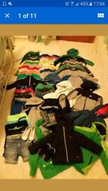 Clothes for boy 2-3years.