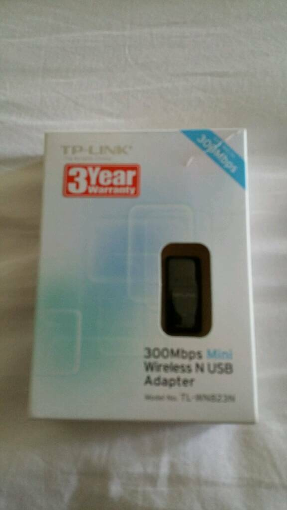 Wireless usb adapter boxed