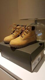 Toddler's size 7 timberland boots