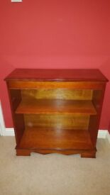Regency Reproduction Bookcase in Yew