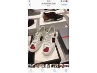 Ladies Gucci trainers size 5/6
