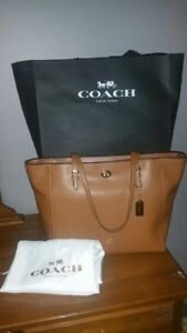 Authentic Coach tote, $350