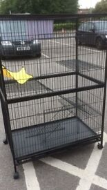 New large cage, suitable for a variety of pets!