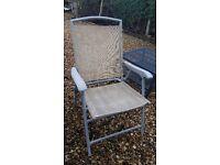 Patio chairs (x3)