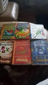Joblot Cressida Cowell Childrens Books x6 £5