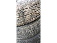 part worn tyres, toyota, shogun, nissan,ML etc by 13,14,15,16,17 and 18