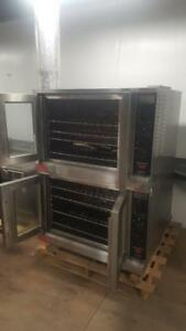 LANG DOUBLE STACK ELECTRIC COMMERCIAL CONVECTION OVENS