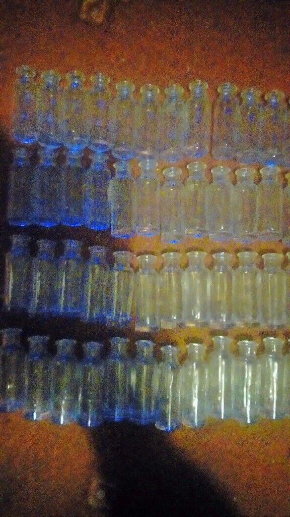 Lots of little bottles