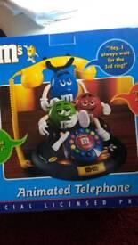 M&M's Animated Telephone