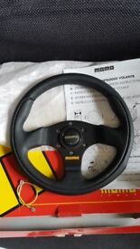 MOMO Team 280mm Steering wheel. Vw Audi Bmw